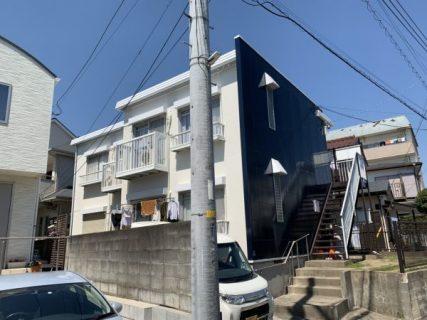 藤沢市Mアパートで外壁塗装屋根塗装