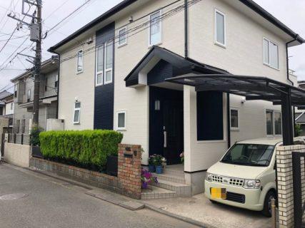 藤沢市F様邸で外壁屋根塗装・ベランダ防水