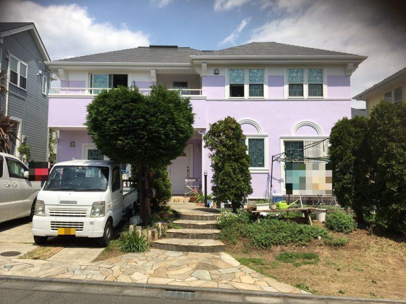 平塚市T様邸で外壁屋根塗装