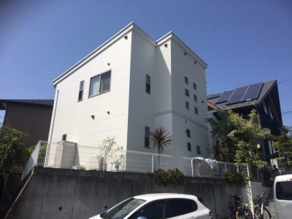 藤沢市K様邸で外壁屋根塗装