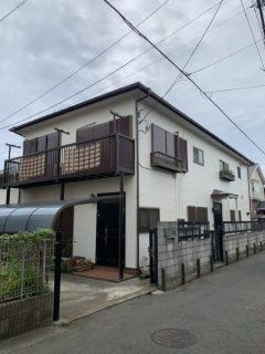 藤沢市T様邸で外壁屋根塗装