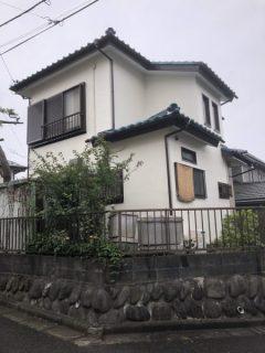 藤沢市F様邸で外壁塗装、軒部分張替え