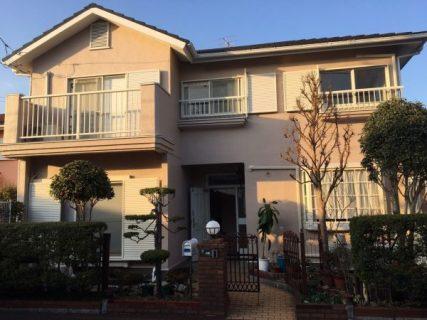 藤沢市W様邸で外壁塗装、屋根塗装