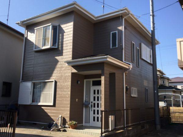 平塚市S様邸で外壁塗装、屋根塗装