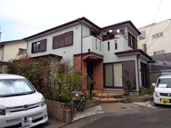 藤沢市T様邸で外壁屋根塗装、ベランダ防水