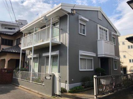 藤沢市O様邸で外壁屋根塗装工事