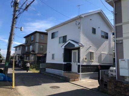 茅ヶ崎市W様邸外壁・屋根・付帯部・シーリング・基礎・塗装工事