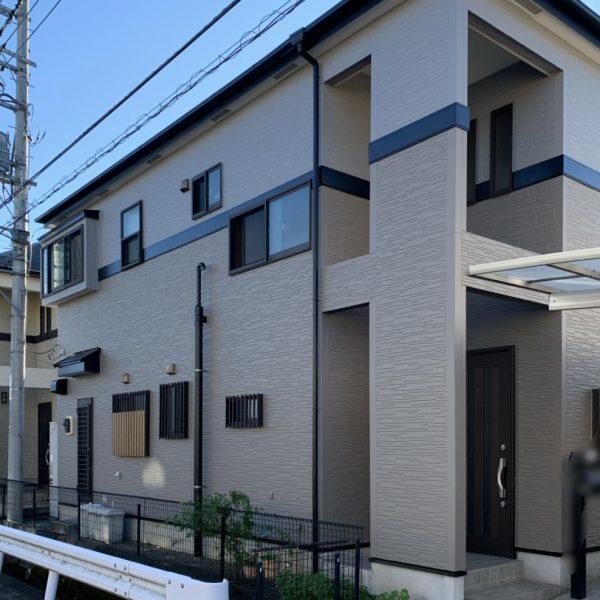 G様邸外壁屋根付帯部塗装ベランダ防水シーリング工事