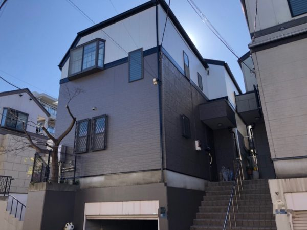 藤沢市S様邸外壁屋根付帯部塗装ベランダ防水コーキング工事