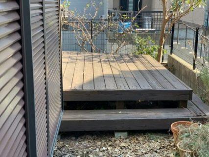藤沢市S様邸ウッドデッキ塗装工事