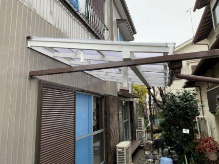 藤沢市K様邸テラス塗装工事