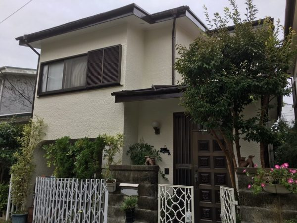 茅ヶ崎市Y様邸外壁・屋根・付帯部塗装工事