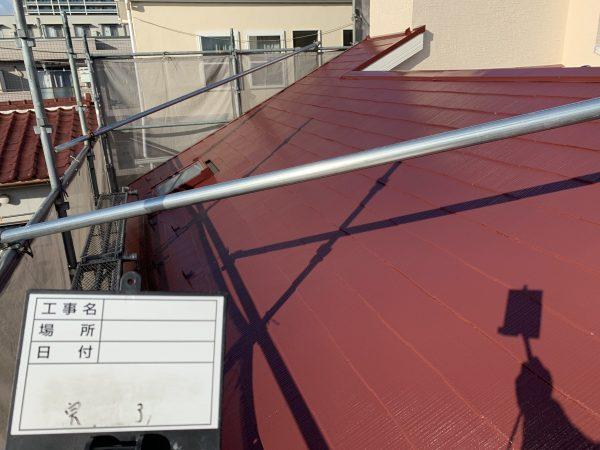 藤沢市K様邸屋根塗装工事