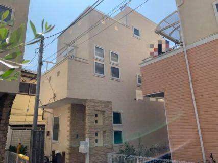 藤沢市K様邸外壁・屋根・付帯部塗装・ベランダ防水工事