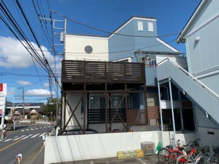 藤沢市w様邸外壁屋根付帯部ウッドデッキベランダ防水塗装コーキング工事