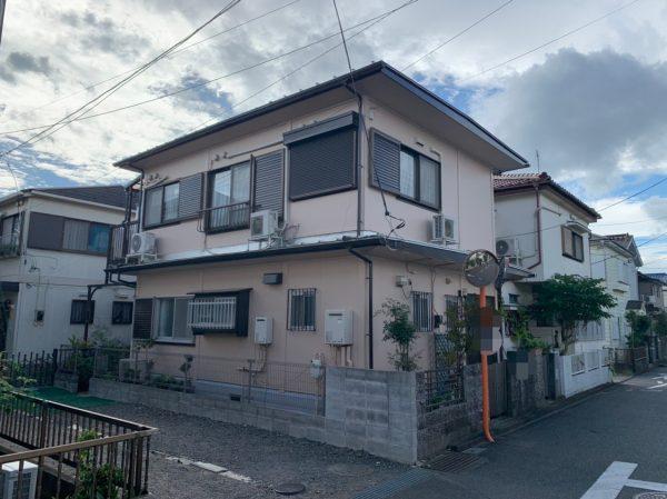 茅ヶ崎市Y様邸外壁・付帯部・基礎塗装工事