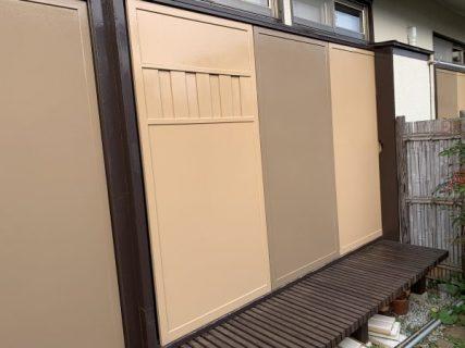 藤沢市S様邸 木製雨戸塗装工事