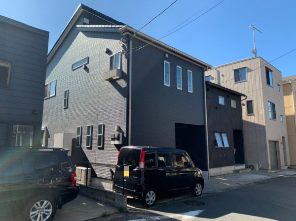 藤沢市M様邸外壁付帯部塗装ベランダ防水コーキング工事