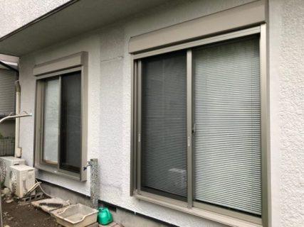 茅ヶ崎市W様邸サッシ交換・部分塗装工事