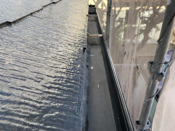弊社は塗装工事終了後横樋清掃も致します‼︎