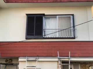 茅ヶ崎市M様邸戸袋・窓枠塗装工事