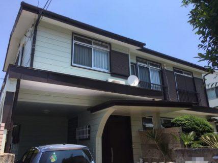 藤沢市O様邸外壁・屋根・付帯部・防水塗装・コーキング工事