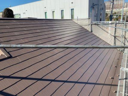 海老名市s様邸屋根塗装工事
