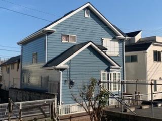 藤沢市k様邸外壁・屋根・付帯部塗装・コーキング工事