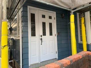藤沢市k様邸玄関ドア塗装工事
