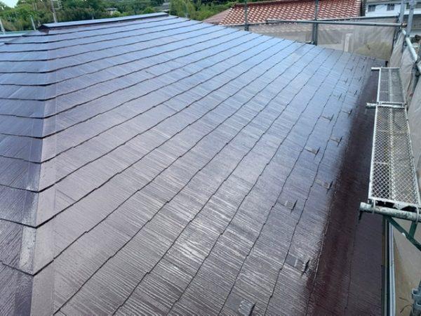 藤沢市T様邸屋根・雨戸塗装工事