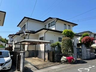 藤沢市T様邸外壁屋根付帯部基礎塗装工事