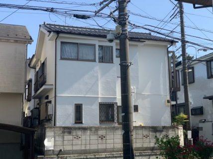 藤沢市s様邸外壁付帯部基礎塗装工事